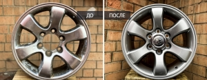 Примеры работ покраска дисков. Как качественно выполнить покраску дисков. Автосервис Maxiwheels на Дмитровском ш