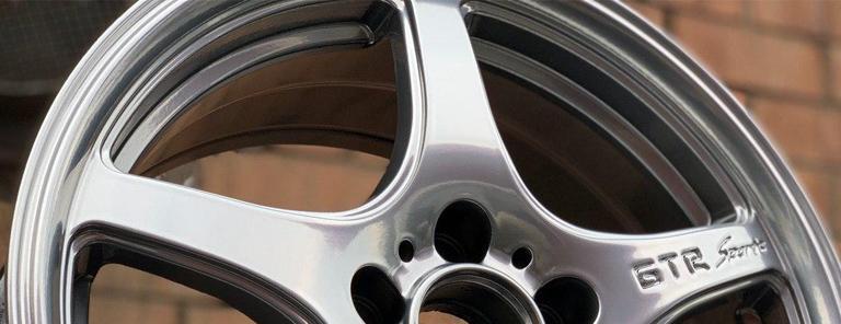 Как выполняется полировка литых дисков