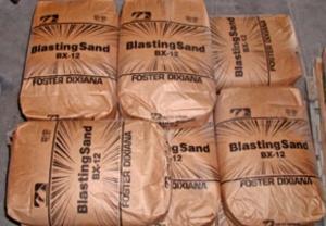 Песок для пескоструйной обработки