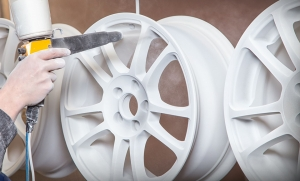 Порошковая покраска литых дисков