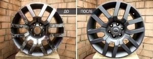 Что нужно знать о покраске литых дисков