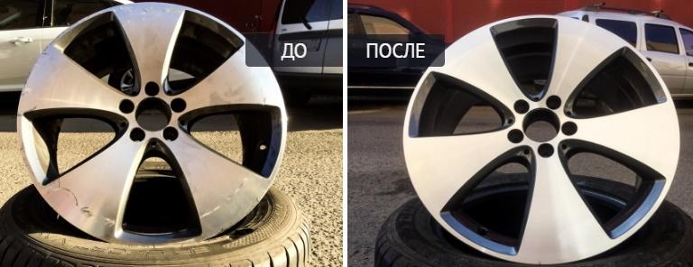 Виды покраски литых дисков